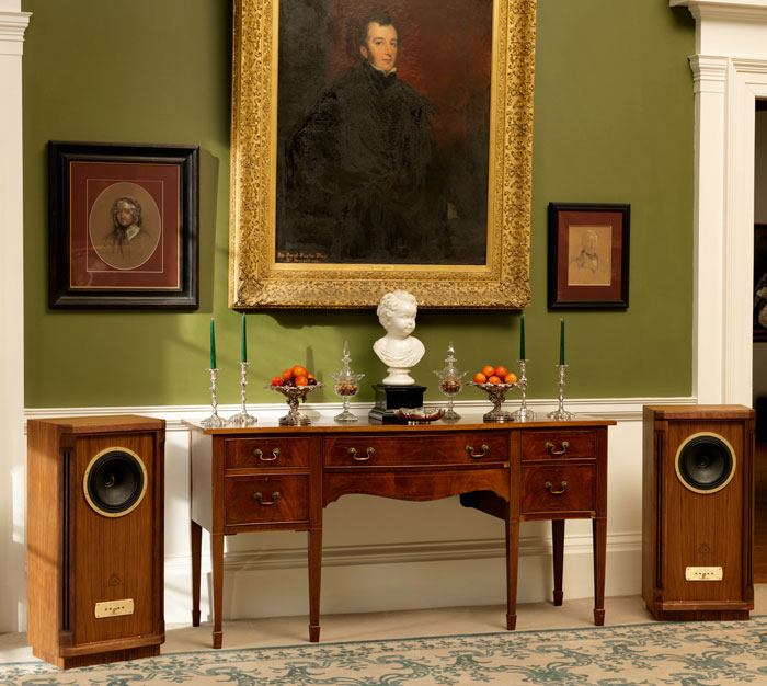 Tannoy Turnberry GR в интерьере