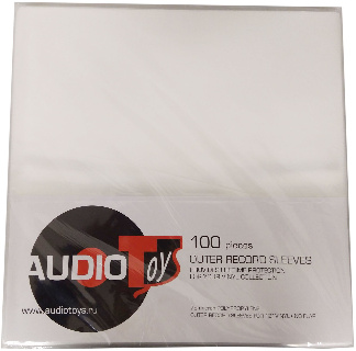 Outer Record Sleeves PP 100 штук