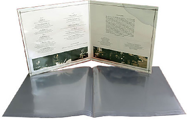 PVC Outer Sleeves Gatefold 12""
