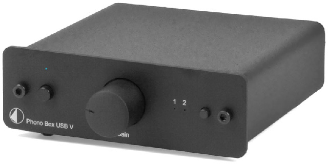 Phono Box USB V черный