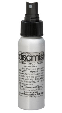 DiscMist 2 oz. Optical Disc Cleaner