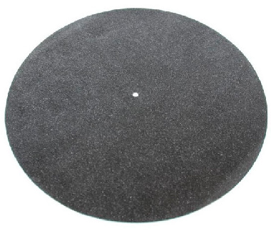 Black Leather Mat